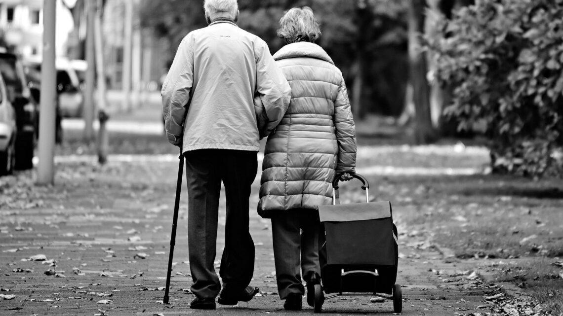 Hilfe für Senioren bietet der Gehstock