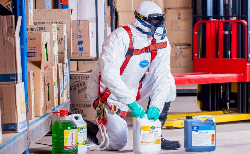 Gefährliche Stoffe sicher lagern
